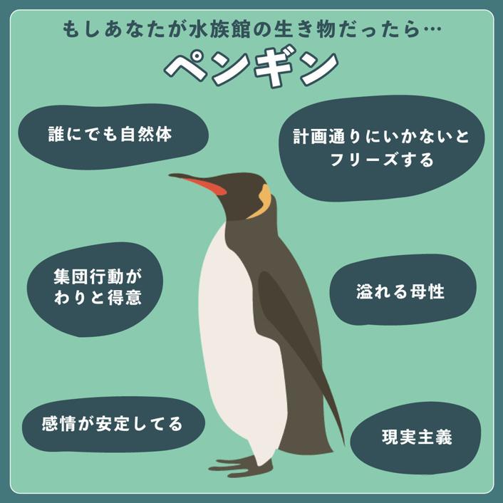 ペンギンでした