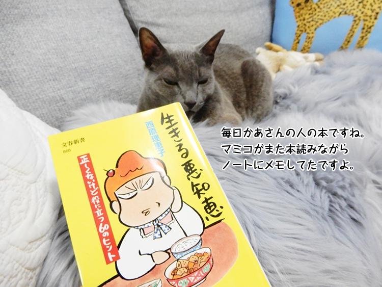 毎日かあさんの人の本ですね。マミコがまた本読みながらノートにメモしてたですよ。