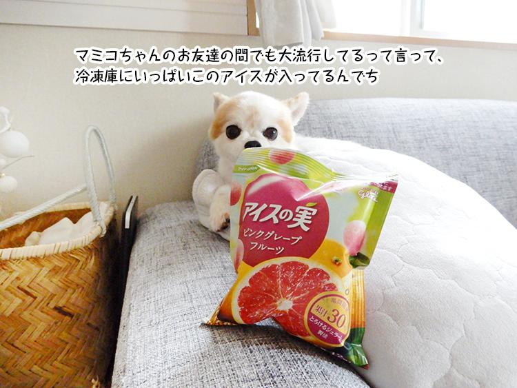 マミコちゃんのお友達の間でも大流行してるって言って、冷凍庫にいっぱいこのアイスが入ってるんでち