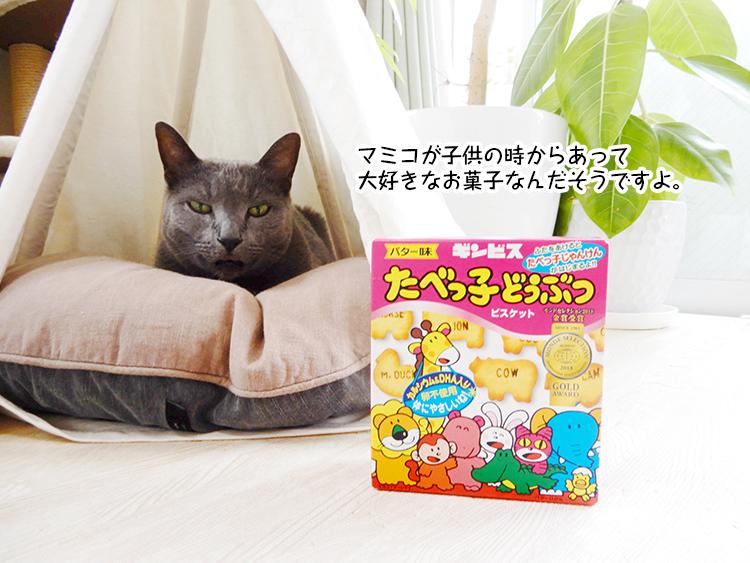 マミコが子供の時からあって 大好きなお菓子なんだそうですよ。