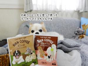 犬用コーヒーだと思って買った うっかりマミコちゃんです