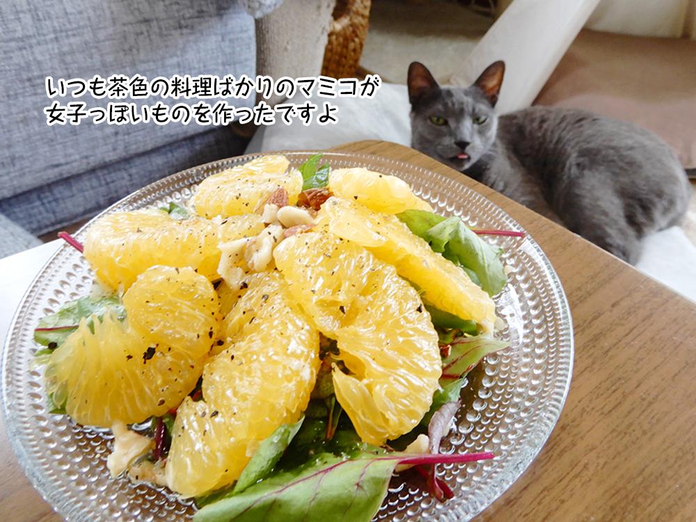 いつも茶色の料理ばかりのマミコが 女子っぽいものを作ったですよ