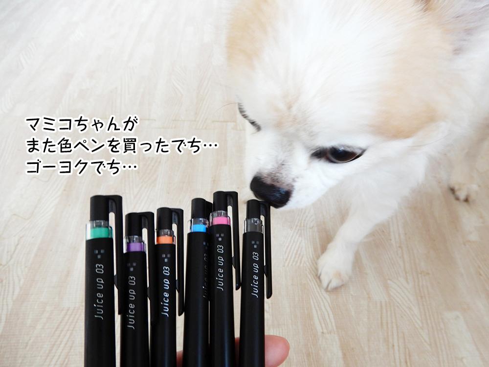 マミコちゃんがまた色ペンを買ったでち…ゴーヨクでち…